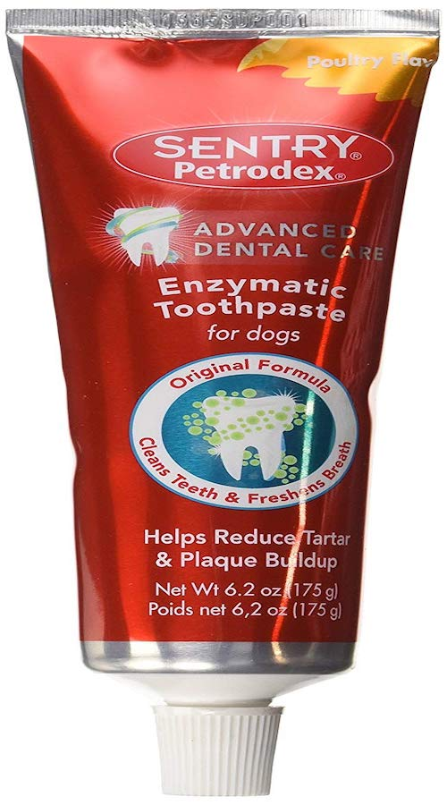 sentry dog toothpaste