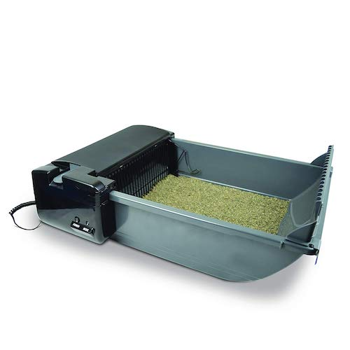 our pets smart self cleaning litter box