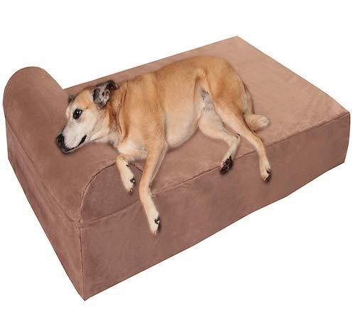 dog barker large dog bed