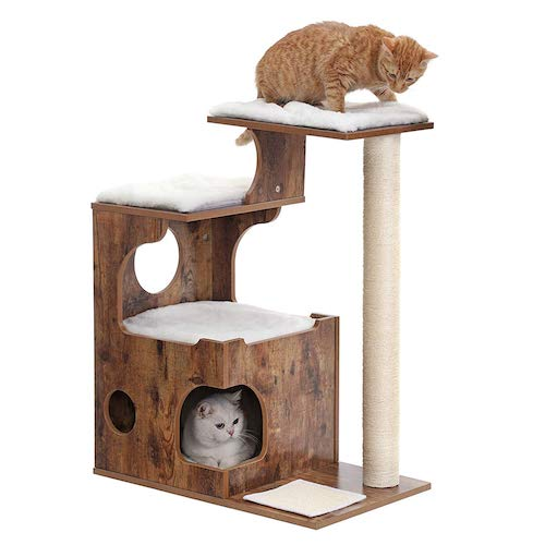 luxury cat tree