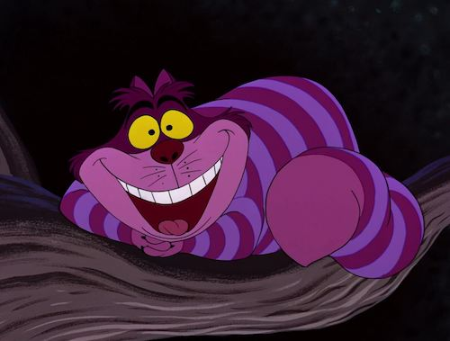 Cheshire Cat famous cat