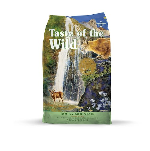 Taste of the Wild cat food bag