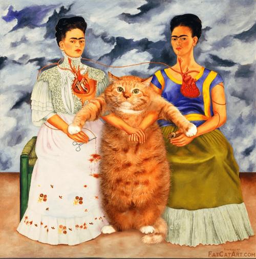 Zarathustra famous cat