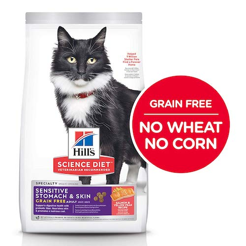 hill's science dry cat food