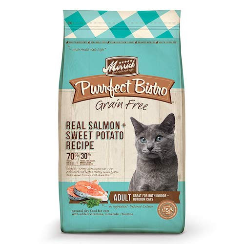 merrick cat food bag