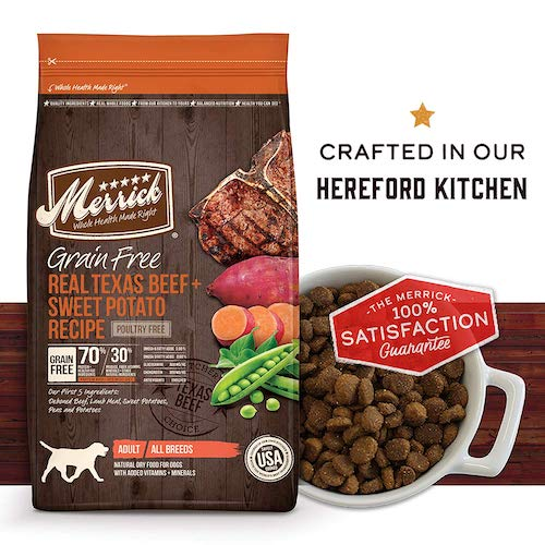 merrick dog food bag