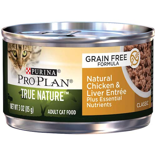 purina pro plan canned cat food