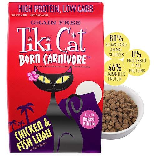 tiki cat food bag