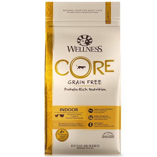 wellness core cat food bag