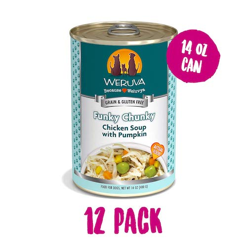 weruva dog food can