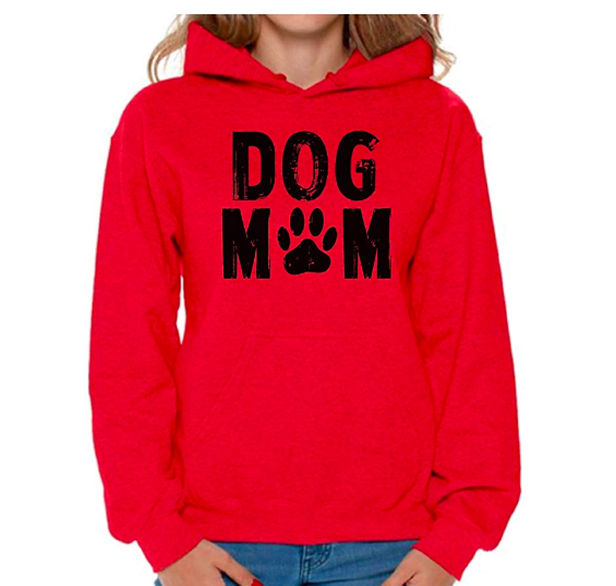 Awkward Styles Women's Dog Mom Hoodie