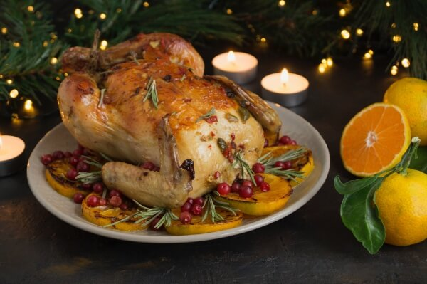 roasted seasonal turkey